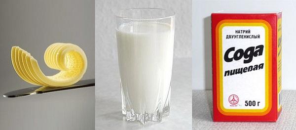 Как сделать молоко с медом и содой от кашля - Bjj66.ru